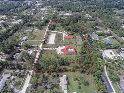 Loxahatchee Single Family Home For Sale: 12981 Casey Road