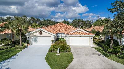 Palm City Single Family Home For Sale: 2453 SW Parkside Drive