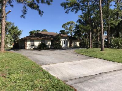 Lake Worth Single Family Home For Sale: 8811 Yearling Drive