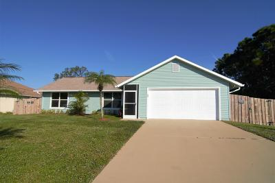 Port Saint Lucie Single Family Home For Sale: 109 SW Twig Avenue