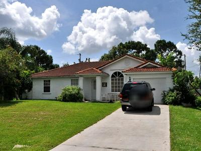 Port Saint Lucie Single Family Home For Sale: 988 SW Whittier Terrace