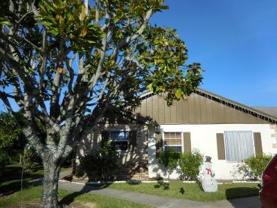 Jupiter Single Family Home For Sale: 151 Doe Trail