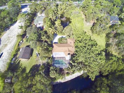 Jupiter Single Family Home For Sale: 5930 Center Street