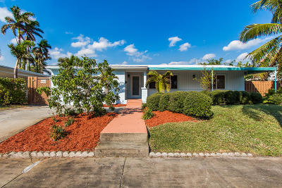 West Palm Beach FL Single Family Home For Sale: $569,900