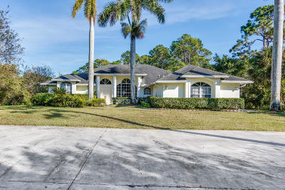 Royal Palm Beach Single Family Home For Sale: 6622 Royal Palm Beach Boulevard