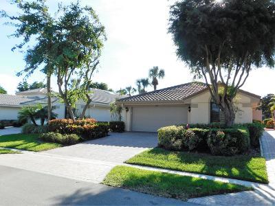Delray Beach Single Family Home For Sale: 7730 Glendevon Lane
