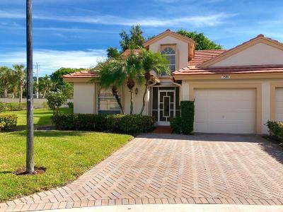Delray Beach Single Family Home For Sale: 7509 Diamond Pointe Circle
