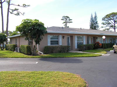 Delray Beach FL Single Family Home For Sale: $109,900