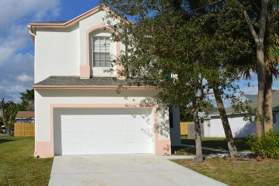 West Palm Beach FL Single Family Home For Sale: $298,000