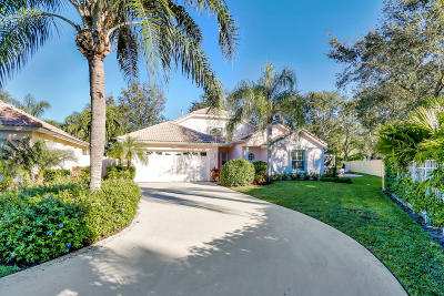 Jupiter Single Family Home For Sale: 163 Spoonbill Court