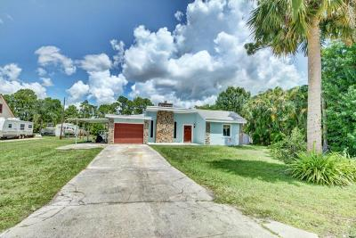 Hobe Sound Single Family Home For Sale: 6163 SE Orange Blossom Trail