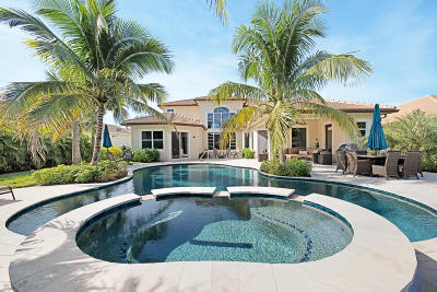 Jupiter Single Family Home For Sale: 467 Rudder Cay Way
