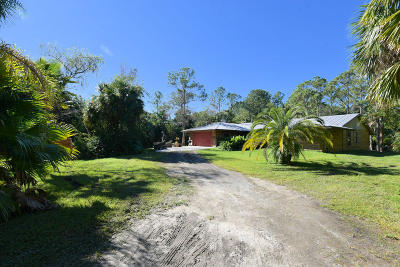 Jupiter Single Family Home For Sale: 16831 95th Avenue