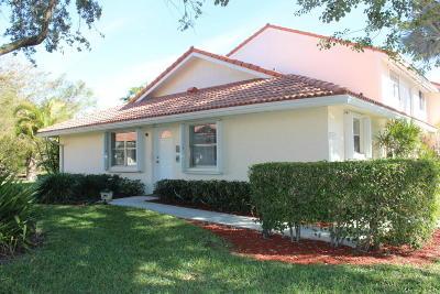 Boca Raton Single Family Home Contingent: 6361 Walk Circle #6361
