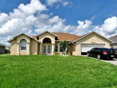 Port Saint Lucie Single Family Home For Sale: 4436 SW Idlewild Street
