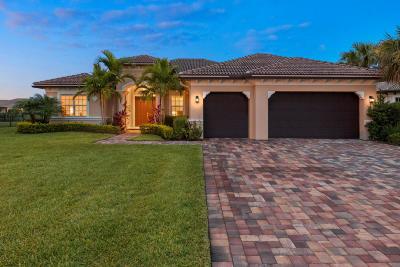 Jupiter Single Family Home For Sale: 135 Steeple Circle
