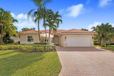 Lake Worth Single Family Home For Sale: 6291 Old Medinah Circle