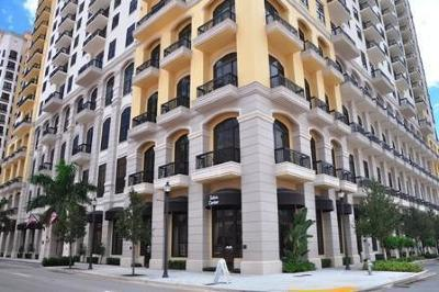 West Palm Beach Condo For Sale: 701 S Olive Avenue #624