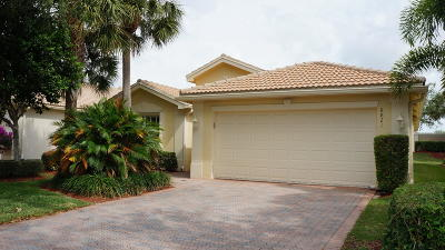 Lake Worth Single Family Home For Sale: 8821 Arbor Walk Drive