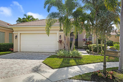 Palm Beach Gardens Single Family Home For Sale: 254 Porto Vecchio Way