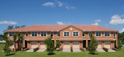 Lake Worth Townhouse For Sale: 5797 Monterra Club Drive #Lot # 40