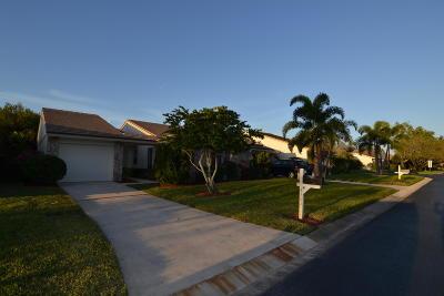 Palm City Single Family Home Contingent: 4101 SW Egret Pond Terrace