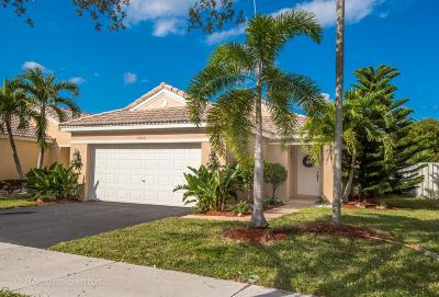 Weston Single Family Home For Sale: 1580 Salerno Circle