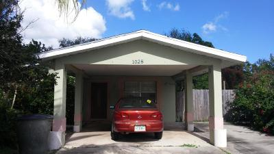 Fort Pierce FL Single Family Home For Sale: $150,000