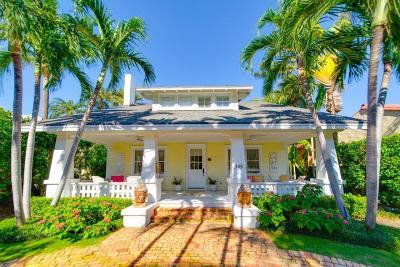 Palm Beach Single Family Home For Sale: 345 Brazilian Avenue