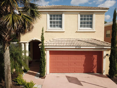 West Palm Beach Single Family Home Contingent: 2724 Misty Oaks Circle