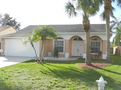 Jupiter Single Family Home For Sale: 6366 Dania Street
