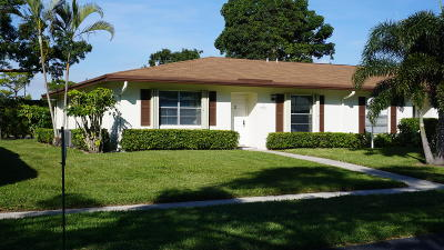 Delray Beach FL Single Family Home Contingent: $119,900