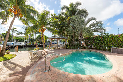 Boynton Beach Single Family Home For Sale: 718 Ocean Inlet Drive