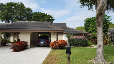 Banyan Springs Single Family Home Contingent: 10069 Shadywood Place