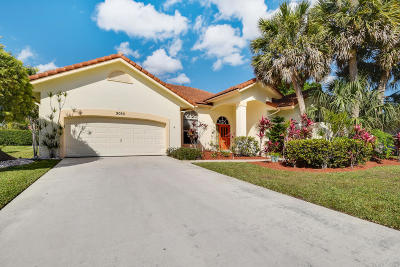 Palm Beach Gardens FL Single Family Home For Sale: $435,000