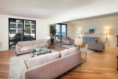 Palm Beach Condo For Sale: 400 S Ocean Boulevard #205