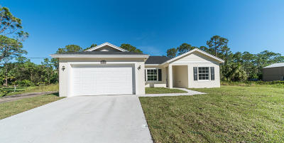 Loxahatchee Single Family Home For Sale: 17431 88th Road