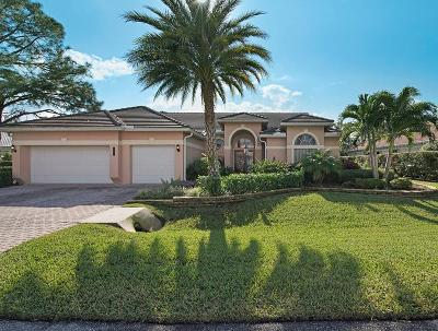 Tequesta Single Family Home Contingent: 8954 SE Water Oak Place