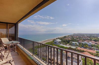 Juno Beach Condo For Sale: 450 Ocean Drive #Ph1