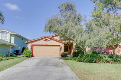 Jupiter Single Family Home For Sale: 6145 Michael Street