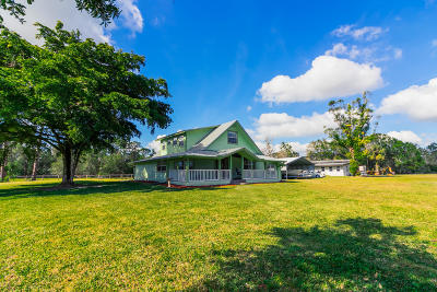 Palm City Single Family Home For Sale: 4007 SW Cherokee Street