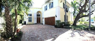 Lake Worth Single Family Home For Sale: 226 Lakeside Drive