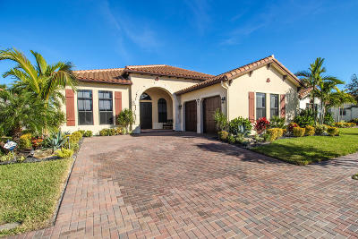 Lake Worth Single Family Home For Sale: 7037 Merganser Court