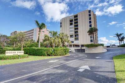 Highland Beach Condo For Sale: 3009 S Ocean Boulevard #804