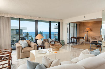 Palm Beach Condo For Sale: 3400 S Ocean Boulevard #5 B I