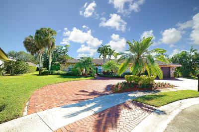 Boca Raton, Boynton Beach, Delray Beach, Jupiter, Lake Worth, North Palm Beach, Palm Beach Gardens, Tequesta, Wellington, West Palm Beach Single Family Home For Sale: 20980 Cipres Way