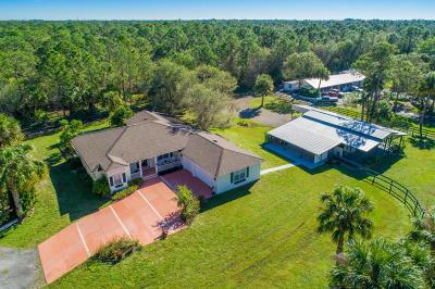 Palm City Single Family Home For Sale: 6819 SW Citrus Boulevard