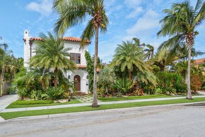 West Palm Beach Single Family Home For Sale: 205 Monroe Drive