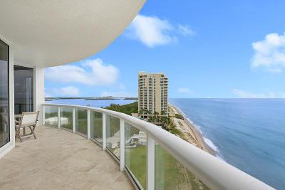 Beach Front Condo For Sale: 4600 Ocean Drive #1101