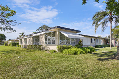 Delray Beach Single Family Home For Sale: 1047 E Circle Terrace #A